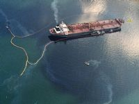 A grueling legal and environmental odyssey came to a climactic conclusion Wednesday when the U.S. Supreme Court sliced punitive damages from the 1979 Exxon Valdez oil spill to $507 million -- a tenth of what a jury awarded 14 years ago. 2