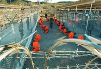 A US federal judge placed 16 lawsuits by Guantánamo Bay detainees on hold Wednesday, saying he may no longer have jurisdiction to hear their cases. 2
