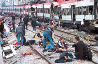 Spain was on terror alert yesterday as 29 men jointly accused of murdering 192 people in the 2004 Madrid train bombings went on trial for the deadliest Islamist attack seen in Europe. 2