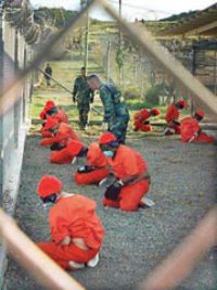 Australian David Hicks, imprisoned at Guantanamo Bay by the United States is the first terror-war suspect to face prosecution under a new system of military tribunals and could spend the rest of his life in prison if convicted. 2